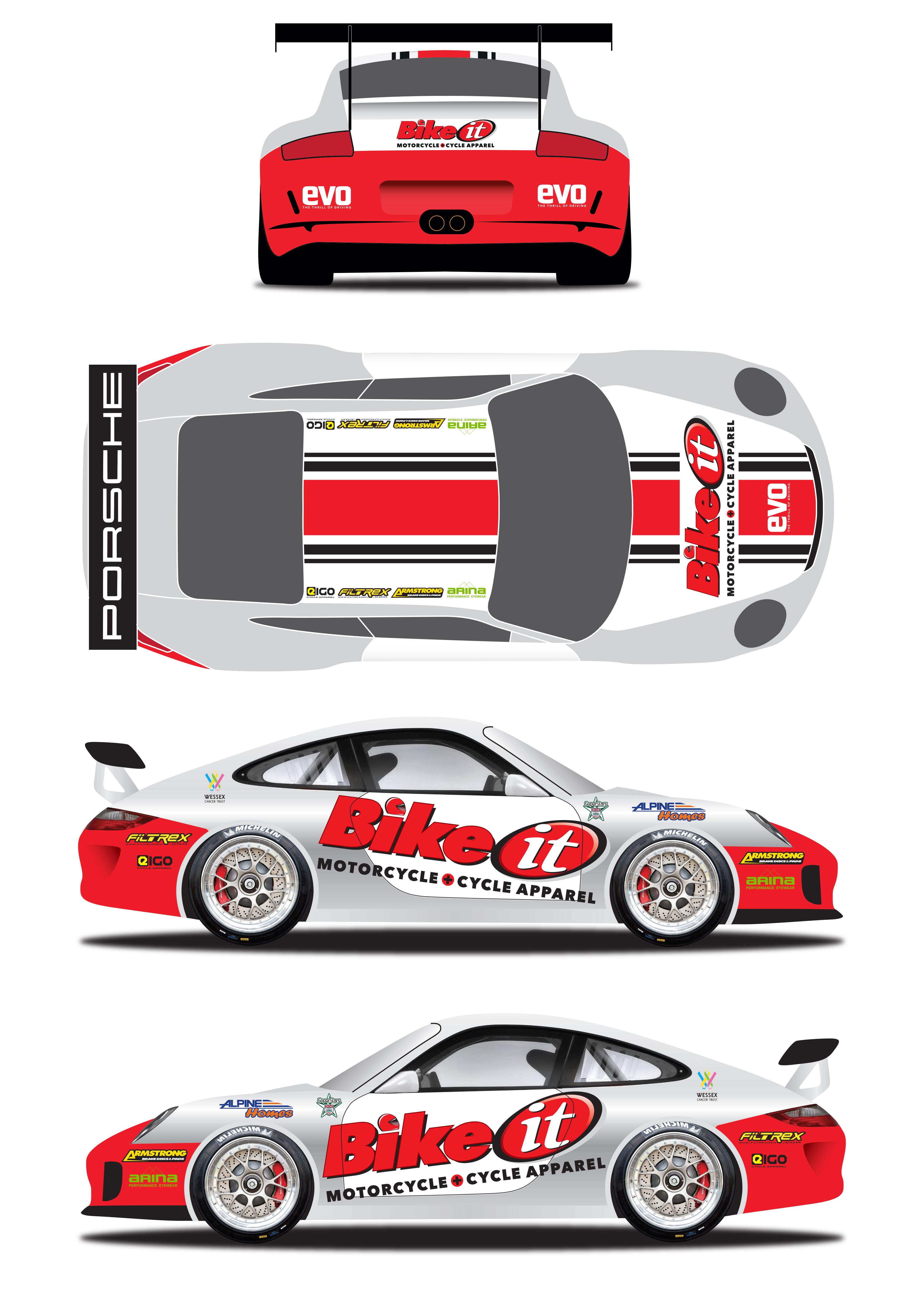 Porsche Carrera Cup Gb 2013 Dean Stoneman Leading